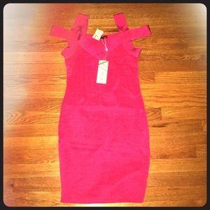 Brand new pink corset tank dress